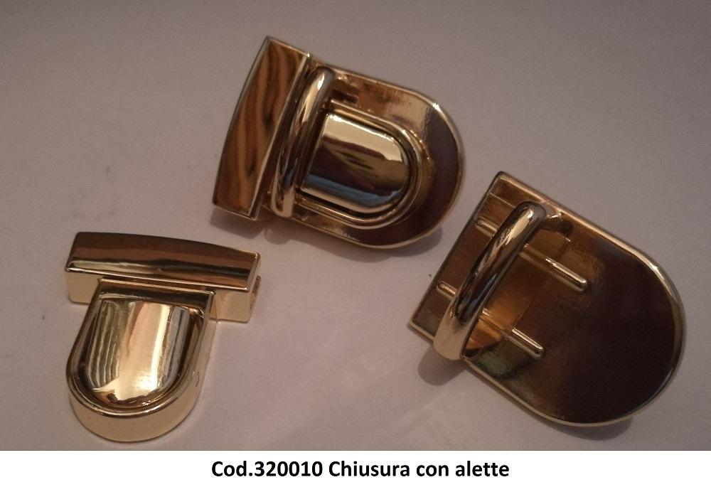 Cod.320010 - Chiusura con alette Image