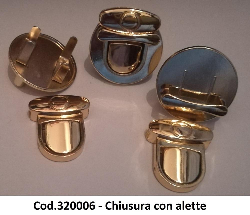 Cod.320006 - Chiusura con alette Image