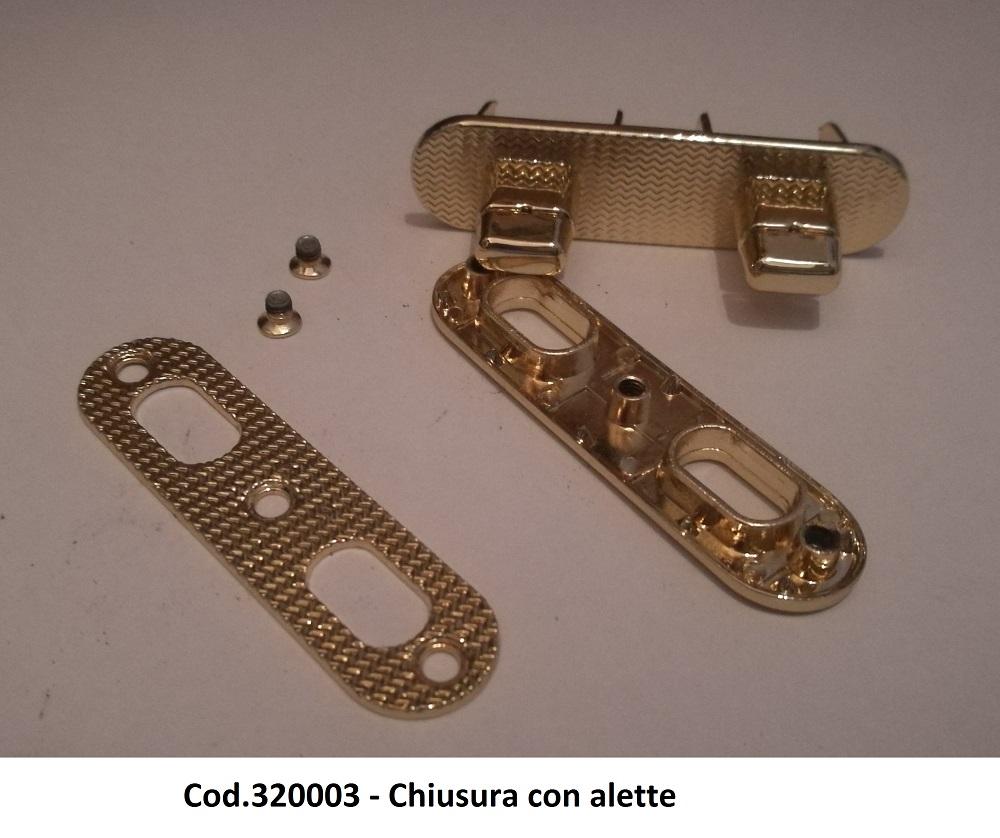 Cod.320003 - Chiusura con alette Image